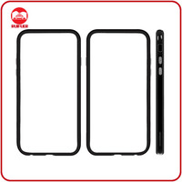 2014 New Transparent Slim Soft TPU Rubber Frame Bumper For iPhone 6 Case Cover