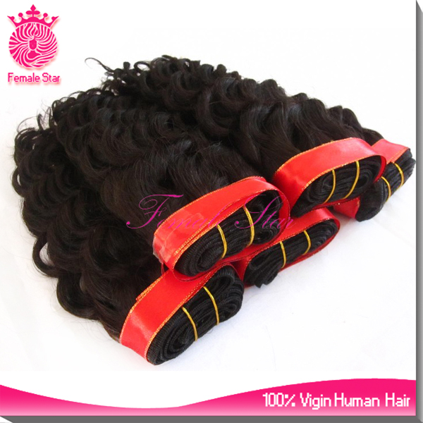 wholesale newest product spiral curl hair extensions remy human hair weaving