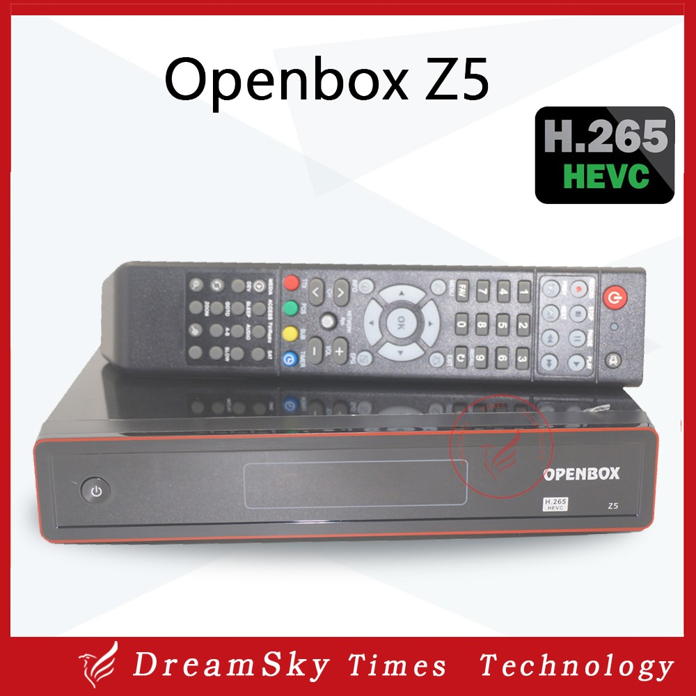 Original Openbox Z5 HD PVR Full 1080P Satellite Receiver support H.265 HEVC Hardware Decoding Youtube Weather CCcam USB Wifi