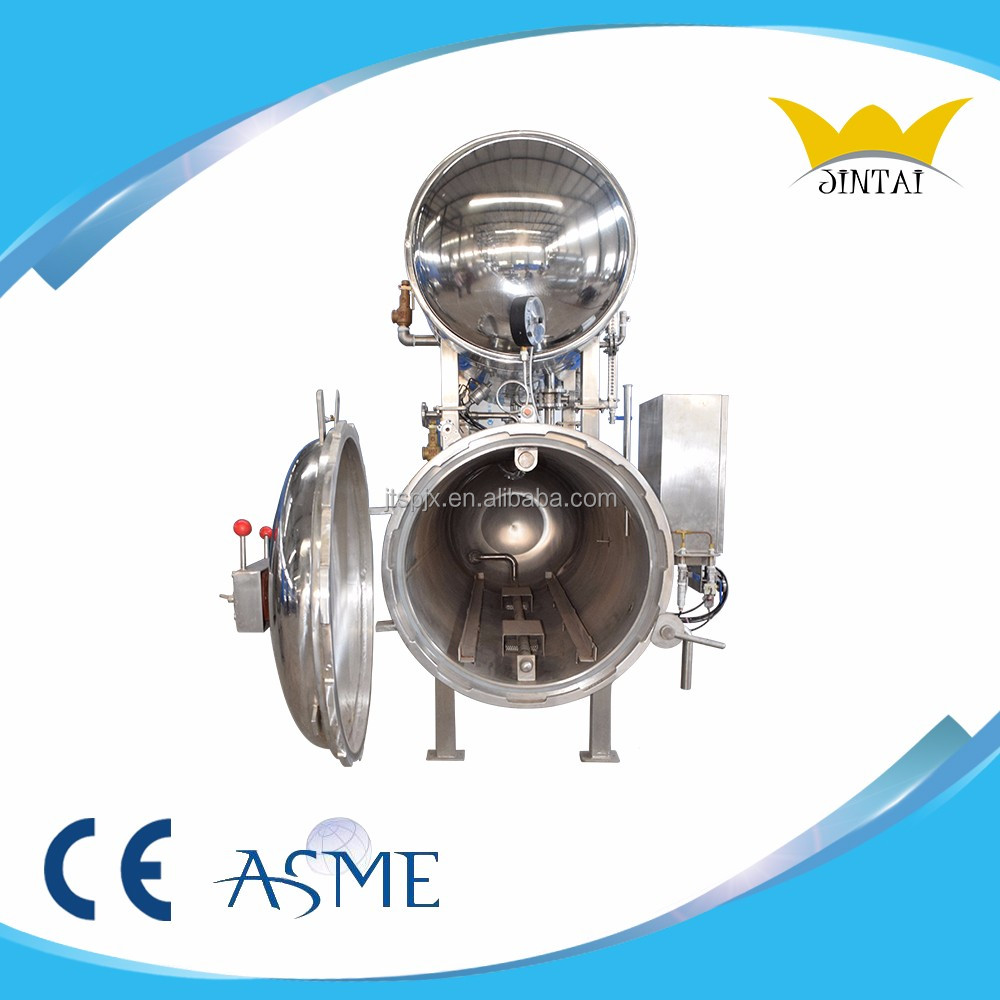 Autoclave / Retort For food Canned bean sterilize production line plant retort canned bean sterilize
