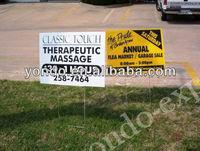 Designer Plastic Corrugated Yard Signs