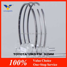 wholesale engine parts for toyota 2kd with piston ring
