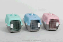 Hot sale big American style plastic flight pet carrier /dog crate