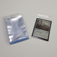 64X89 high clarity precise size resealable inner sleeves for MTG playing cards