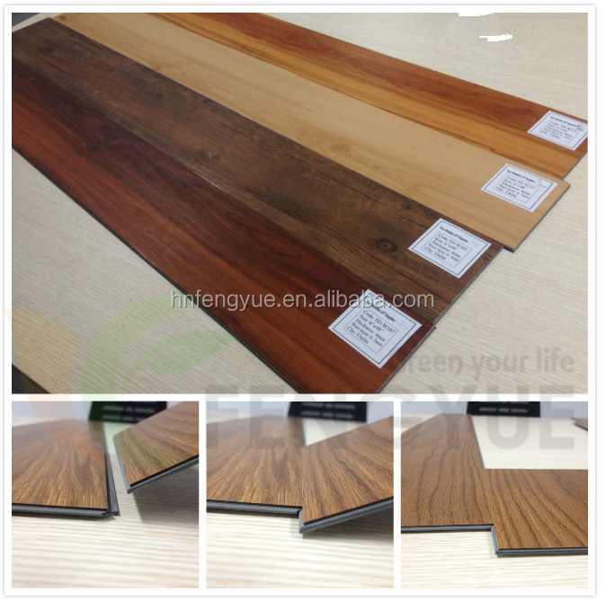 Commercial PVC Waterproof Flooring Wood Vinyl Plank Floor