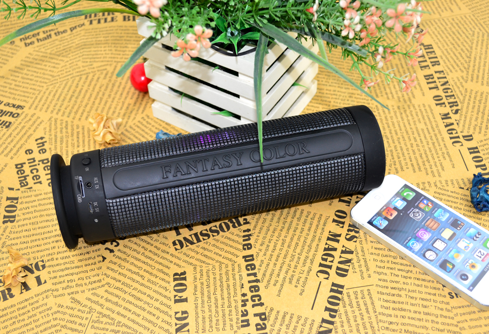 RLS001 2016 Top Quality Bright LED wireless bluethooth speaker with TF card