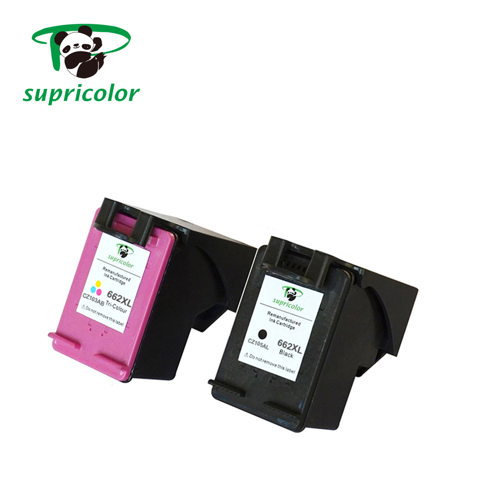 Outstanding image Printing quality compatible for hp 662 ink cartridge