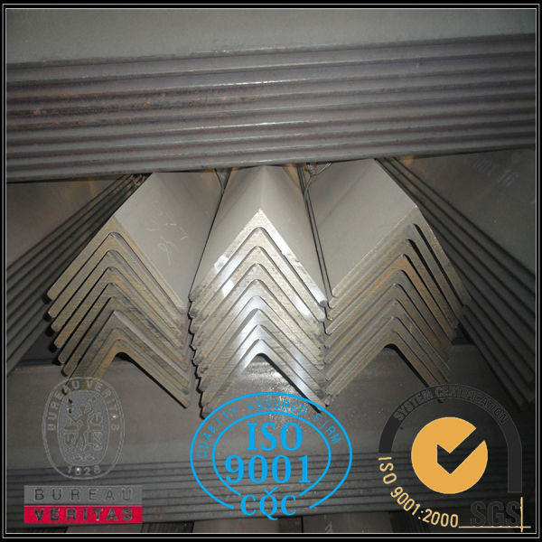 Q235B Q345B MS Steel angle ,angle bar SS400 L type