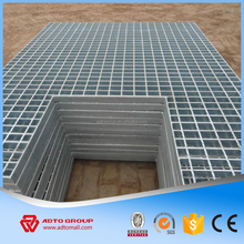 Factory Sale Stainless Steel Grating, Hot Dipped/Galvanized Steel Trench, Customized Road Steel Drainage Grill Grating