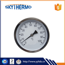 High Quality thermo bimetal deep hot water heater thermometer