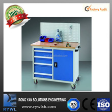 four wheel trolley carts type cheap drawers workbench tools cabinets