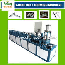 PUSHENG automatic ceiling main T grid roll forming machine