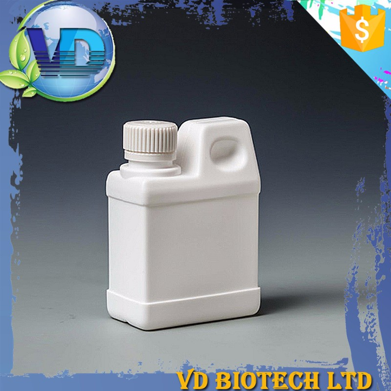 Free sample oil square shape plastic detergent 500cc plastic container white color