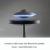 HCNT 2017 New listing Levitation LED table lamp with UFO shape Bluetooth speaker