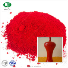Ceramic pigment inclusion red color/glaze pigment for painting for sale