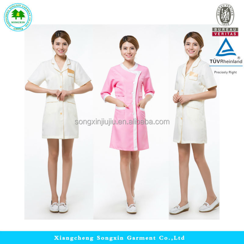 Hot sale spa beauty salon uniform salon spa uniforms for Spa uniform indonesia