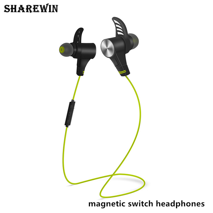 2017 New products bluetooth earphones sport wireless, Magnetic switch headphones wireless M8