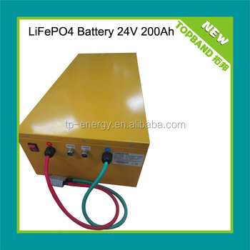 2014HOT nano lifepo4 battery back for e-boat