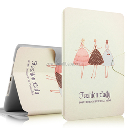 OEM service manufacture professional Cute fashion for ipad mini smart cover