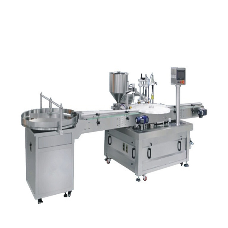 Electric driven automatic bottling filling and capping machine
