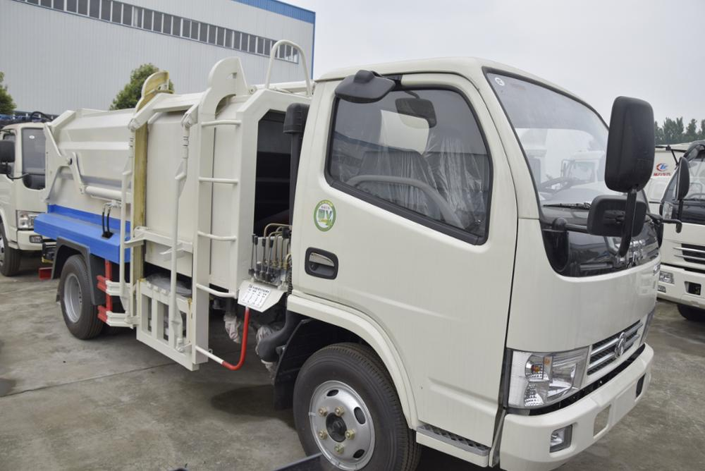 Dongfeng 4*2 15Ton Compact garbage waste collection truck