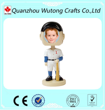 Baseball Bobble Head Frame for Decoration Resin Figure