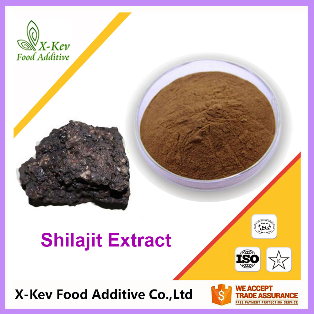 100% Natural Shilajit Extract 50% Fulvic Acid For Shilajit Capsules