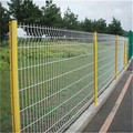 PVC coated or plastic welded frame fence panel(Anping factory and ISO9001)