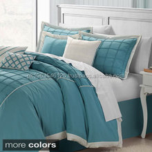 Whisper Comforter Set 6112 and Sham Separates,feather printed bedding set LATEST DESIGNS