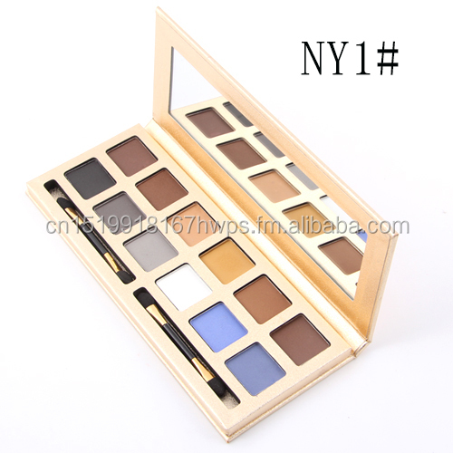 Classical Gloden Handwork Box Eye Shadow 12 Colors Matte Color Paleta Eye Shadow Makeup <strong>Cosmetics</strong> Miss Rose