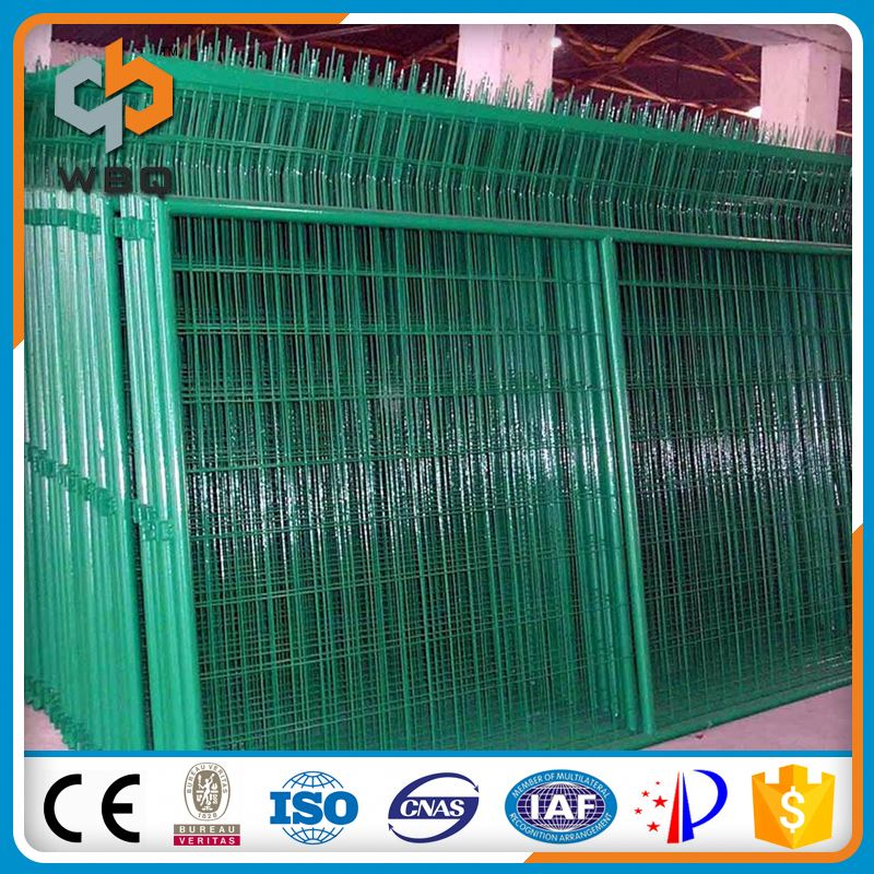 Small MOQ Factory Direct Sale Pained Green Safety Wire Fence