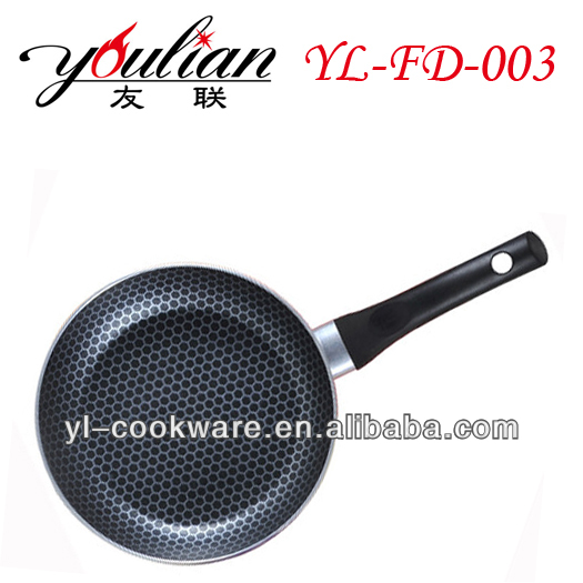 2015 new stylish hot selling Aluminum Non-stick Frypan/Frying Pan No oil