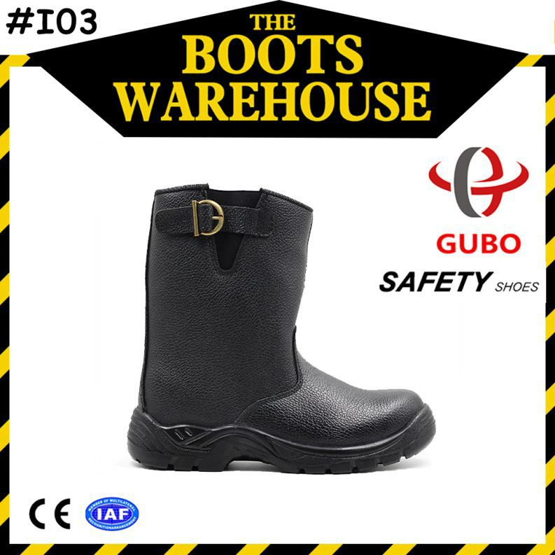 buffalo leather men industrial safety indian army shoes