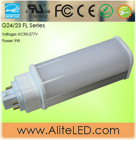 Energy Star 270 degree led lamp PL G24 ul certified 2pin 4pin