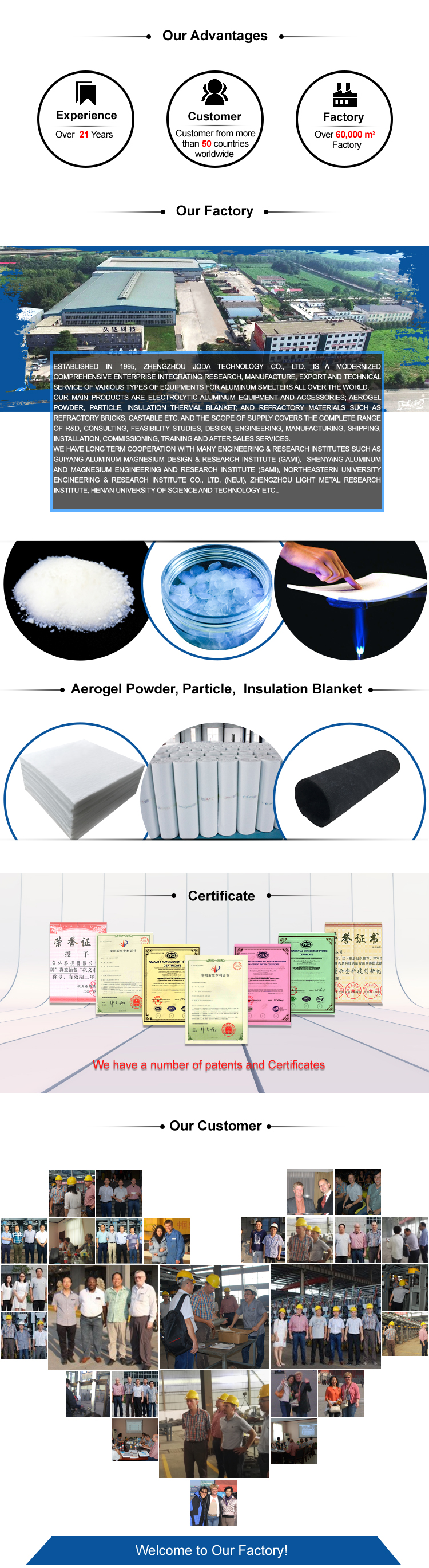 Boiler Insulation Material Aerogel Ceramic Fiber Blanket
