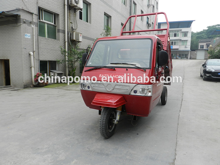 Made In China Popular trike kick scooter, cargo tricycle with closed cabin, electric passenger tricycle for sale