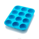12 Cups mini Silicone cake molds Silicone muffin baking molds