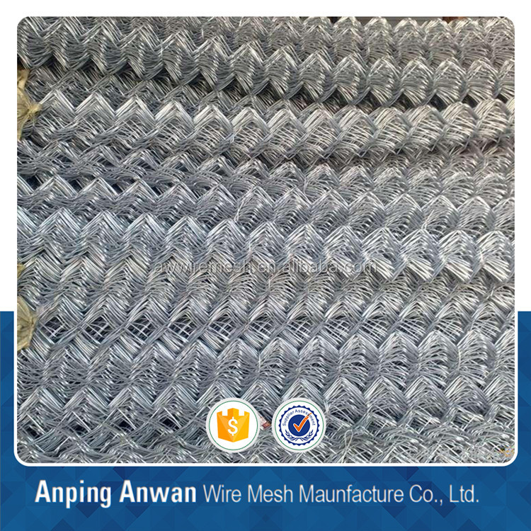 high quality chain link fence (factory export)