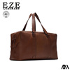 Hot sale PU leather man tote brwon bag for wholesale