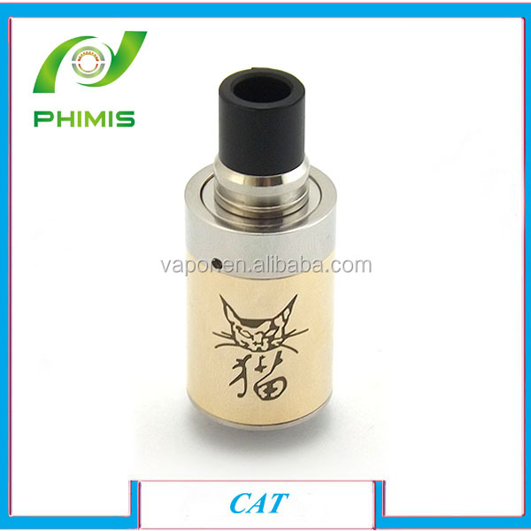 2014 Newest products Dry herb atomizer rebuildable cat atomizer with factory price