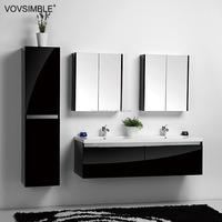 Alibaba wholesale spanish chinese imports wholesale bathroom cabinet with wash basin