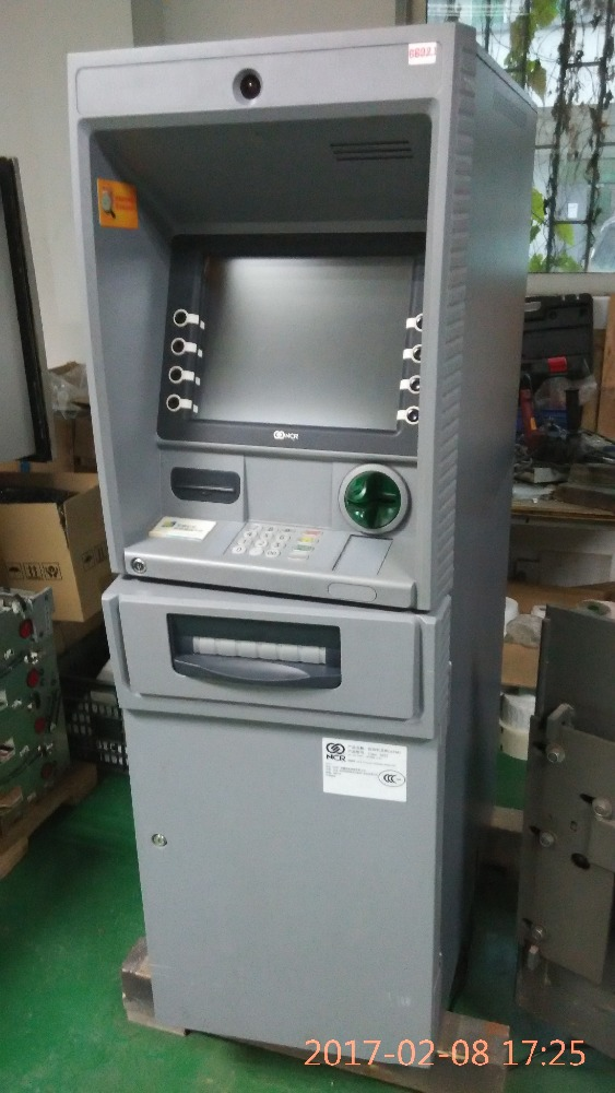 ncr atm price for NCR 6622 6625 6626 machine stainless steel back 5atm water resistant