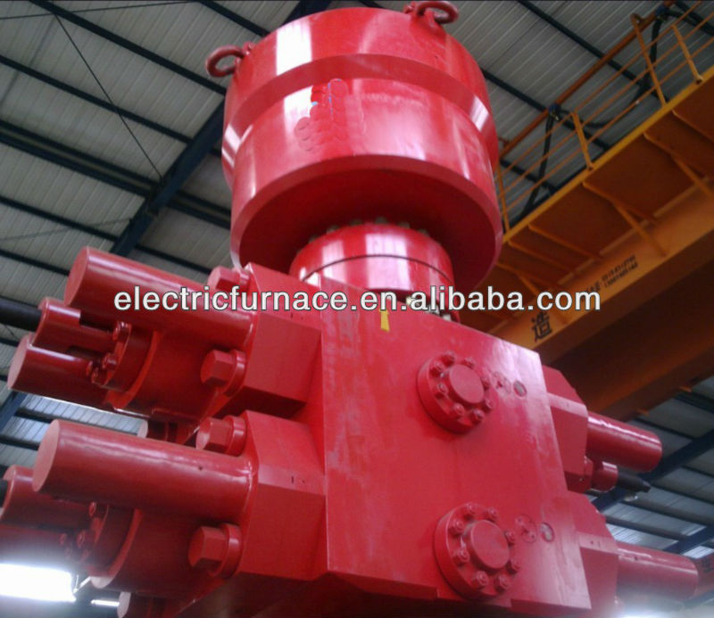 blowout preventer working with drill well machine