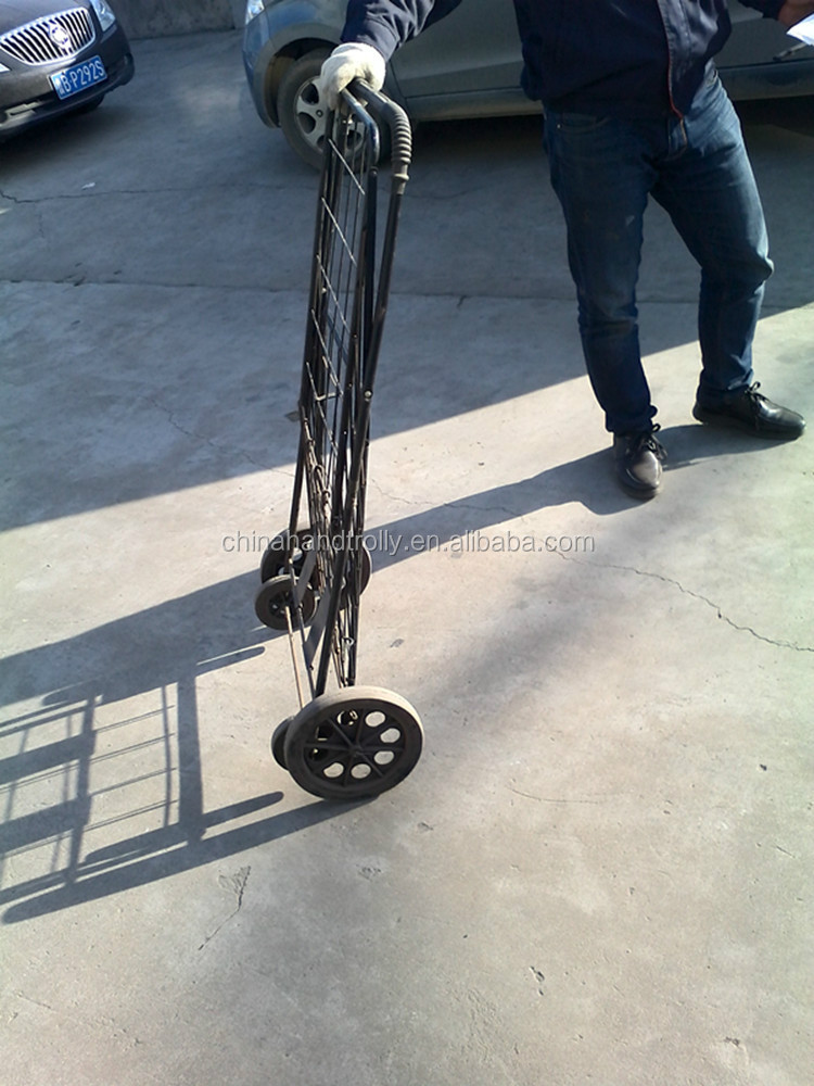 Shopping cart steel hand trolley tool cart