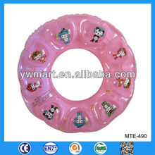 Newest inflatable kids swimming ring, inflatable kids swimming floating ring