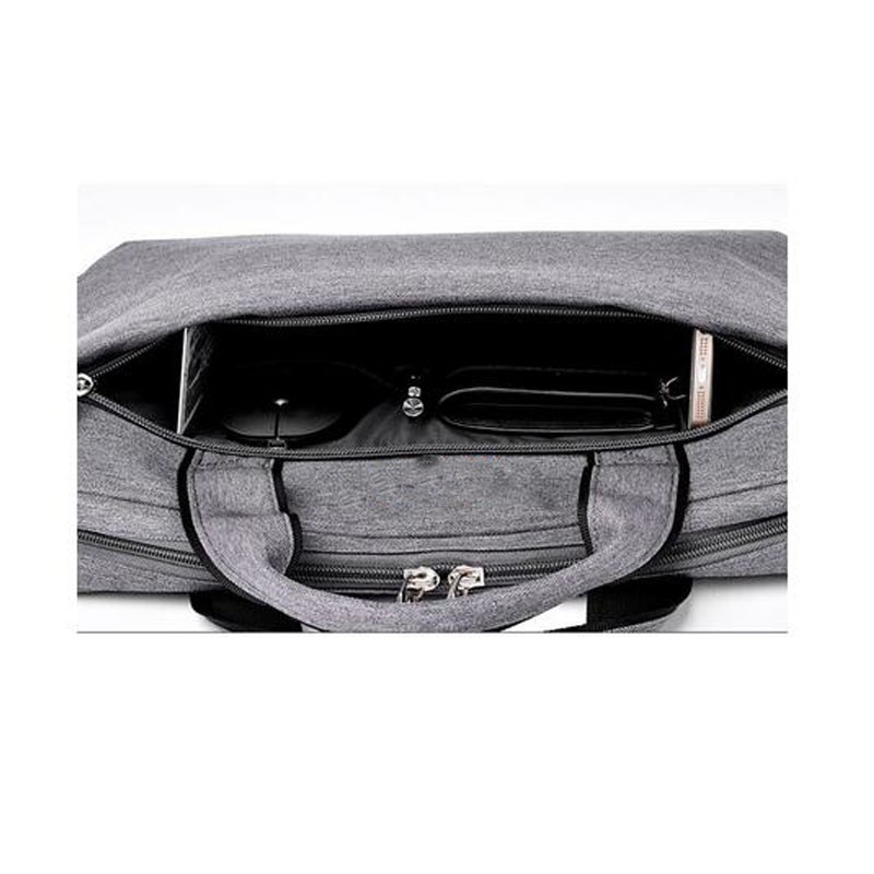 Laptop Briefcase Protective Messenger Nylon Bag Multi-functional Hand Bag