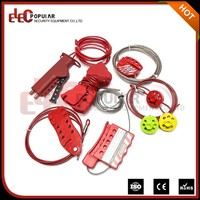 Elecpopular Chinese Products Sold Impact Resistant Adjustable Small Steel Cable Lock