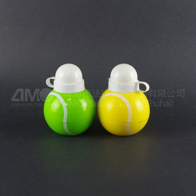 collapsible ball shaped sports bottle Food grade