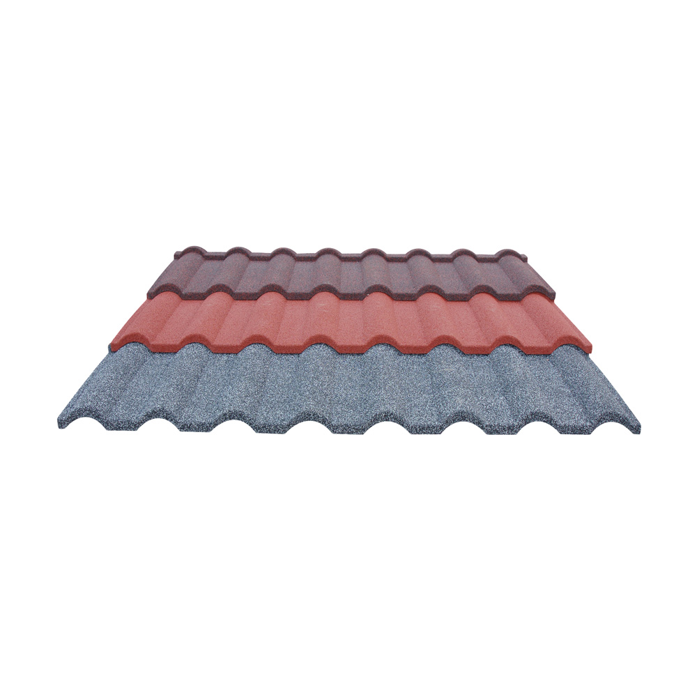 Stone Coated Metal Roof Tile For Villa Roof