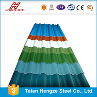China's rich and colorful metal roofing sheets/glass stone coated roofing tile roof/zinc steel